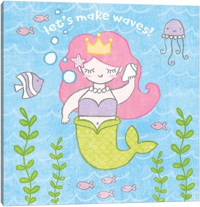 Magical Mermaid I Canvas Art Print