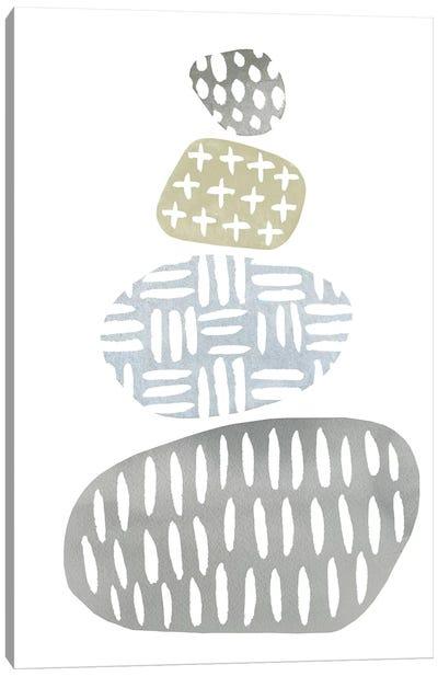 River Stones I Canvas Art Print