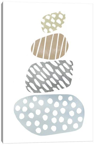 River Stones II Canvas Art Print