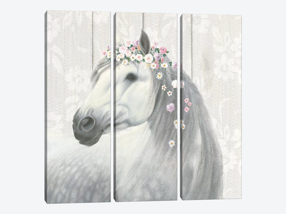 Spirit Stallion II by James Wiens 3-piece Canvas Art Print