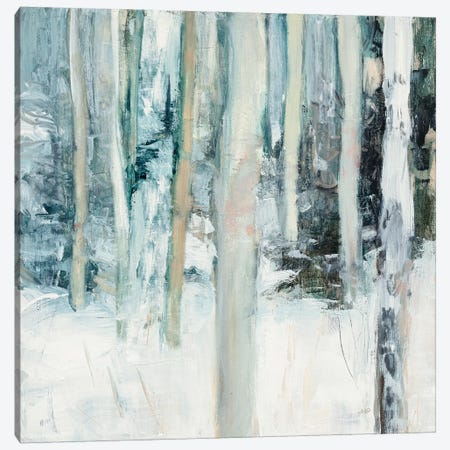 Winter Woods I Canvas Print #WAC6556} by Julia Purinton Art Print