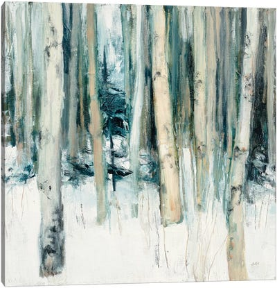 Winter Woods II Canvas Art Print