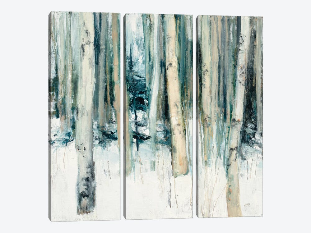 Winter Woods II by Julia Purinton 3-piece Canvas Wall Art