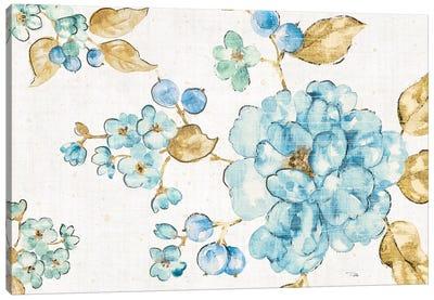 Blue Blossom I Canvas Art Print