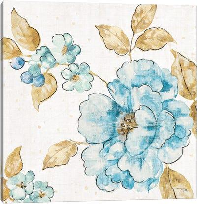 Blue Blossom III Canvas Art Print