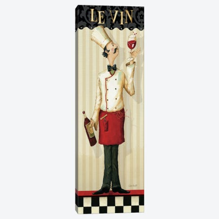 Chef's Masterpiece I (Le Vin) Canvas Print #WAC656} by Lisa Audit Canvas Wall Art