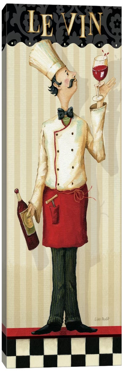 Chef's Masterpiece I (Le Vin) Canvas Art Print