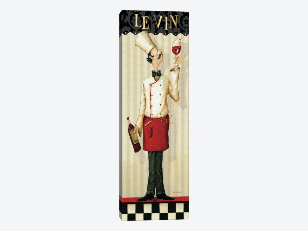 Chef's Masterpiece I (Le Vin) 1-piece Canvas Print