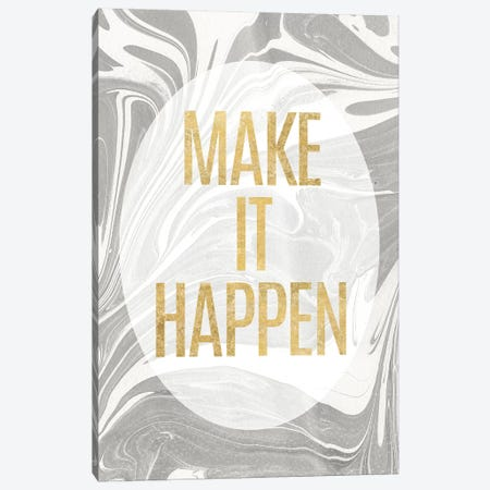 Let's Go For The Gold I Canvas Print #WAC6570} by Wild Apple Portfolio Canvas Wall Art
