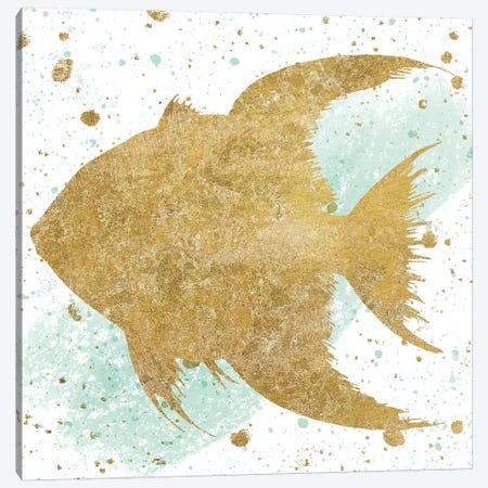 Sea Life Splash II Canvas Print #WAC6579} by Wild Apple Portfolio Canvas Wall Art