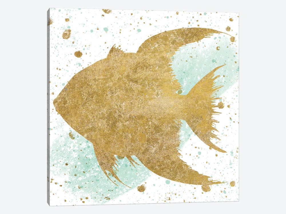 Sea Life Splash II by Wild Apple Portfolio 1-piece Canvas Art
