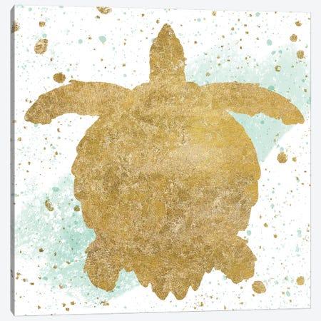 Sea Life Splash VI Canvas Print #WAC6583} by Wild Apple Portfolio Canvas Art Print