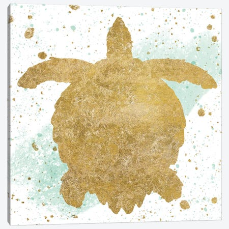 Sea Life Splash VI 3-Piece Canvas #WAC6583} by Wild Apple Portfolio Canvas Art Print