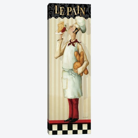 Chef's Masterpiece III (Le Pain) Canvas Print #WAC658} by Lisa Audit Canvas Art Print