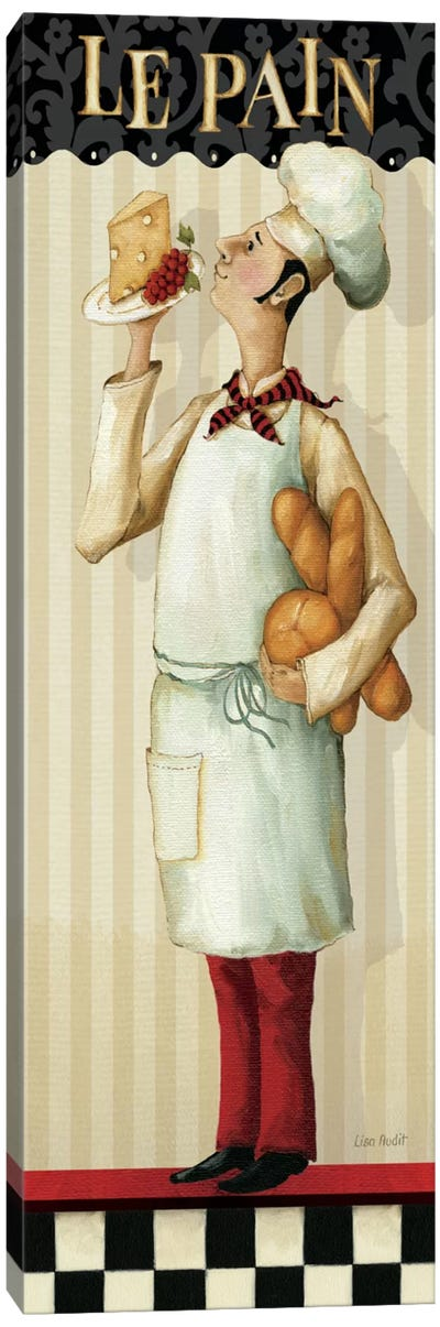 Chef's Masterpiece III (Le Pain) Canvas Art Print