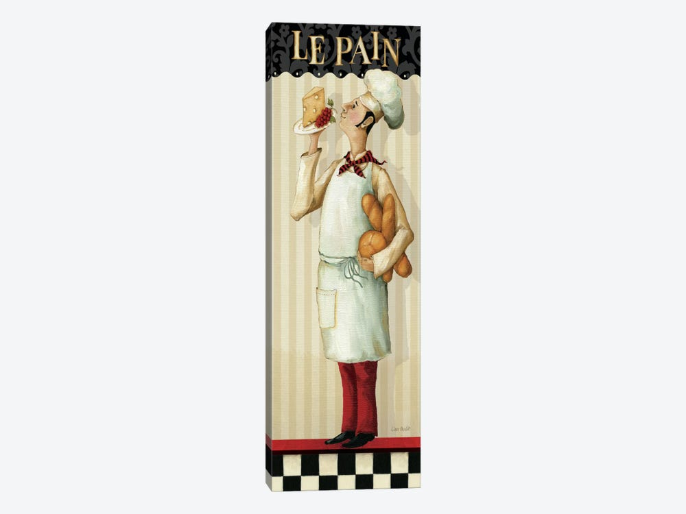 Chef's Masterpiece III (Le Pain) by Lisa Audit 1-piece Art Print
