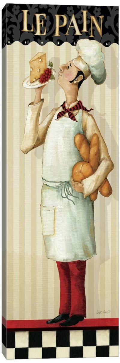 Chef's Masterpiece III (Le Pain) Canvas Art Print