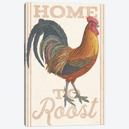 Home To Roost II Canvas Print #WAC6594} by Sue Schlabach Art Print