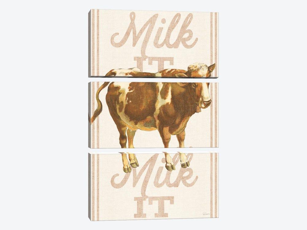 Milk It, Milk It by Sue Schlabach 3-piece Art Print