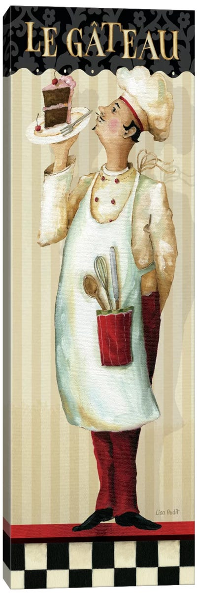 Chef's Masterpiece IV (Le Gateau) Canvas Art Print