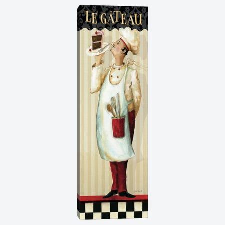 Chef's Masterpiece IV (Le Gateau) Canvas Print #WAC659} by Lisa Audit Canvas Art Print