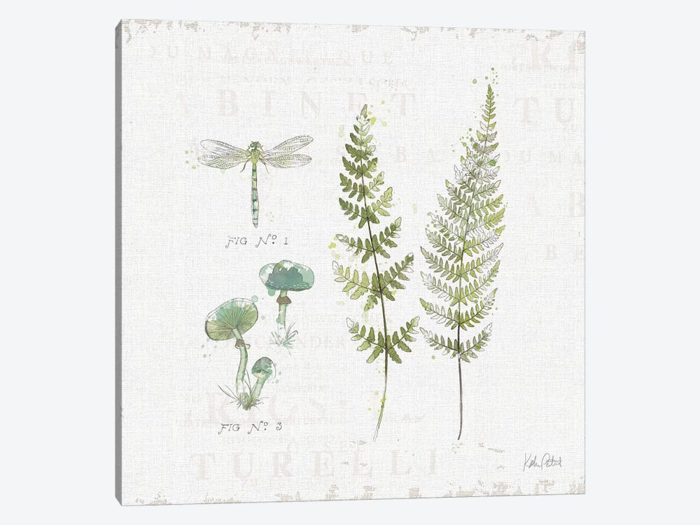 In The Forest VI by Katie Pertiet 1-piece Canvas Art Print