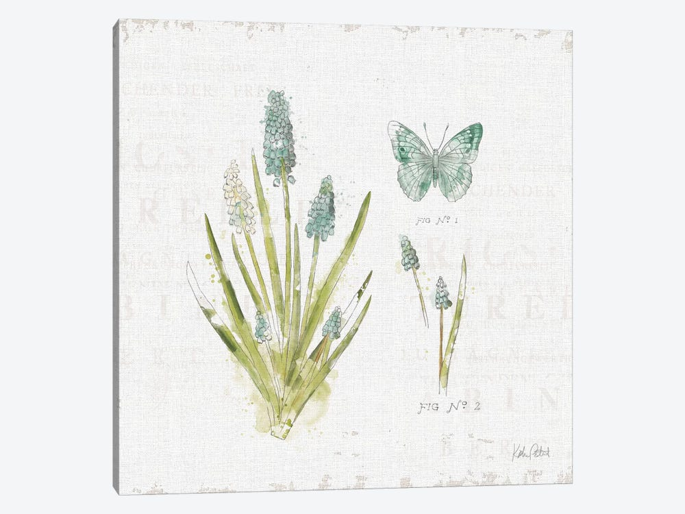 In The Forest VII by Katie Pertiet 1-piece Canvas Art