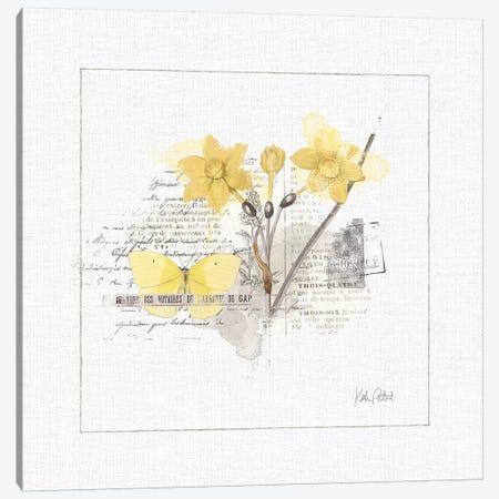 Sunny Day I Canvas Print #WAC6624} by Katie Pertiet Art Print
