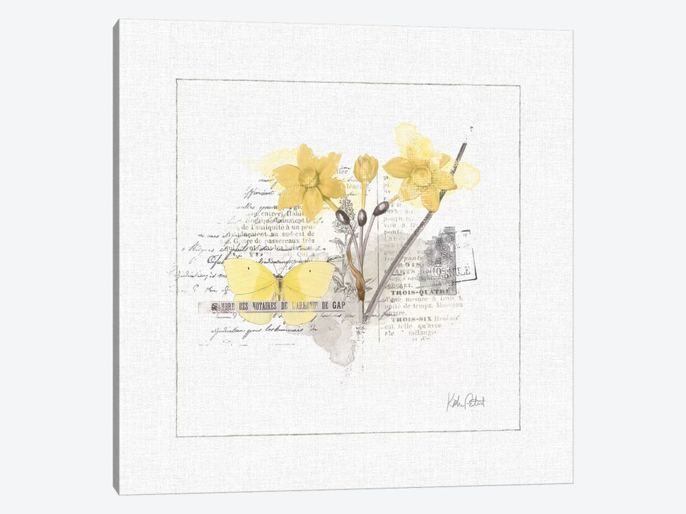 Sunny Day I by Katie Pertiet 1-piece Canvas Art