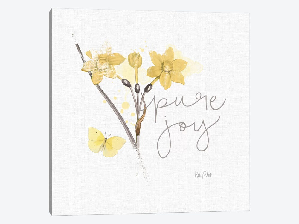 Sunny Day V by Katie Pertiet 1-piece Canvas Art