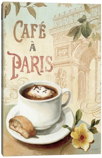 Cafe in Europe I Canvas Art Print