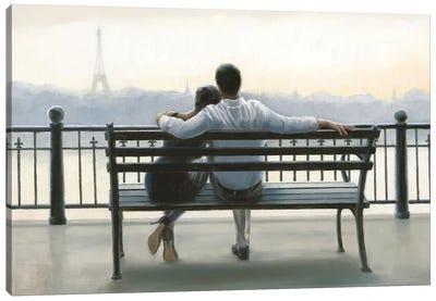 Parisian Afternoon Canvas Print #WAC6632