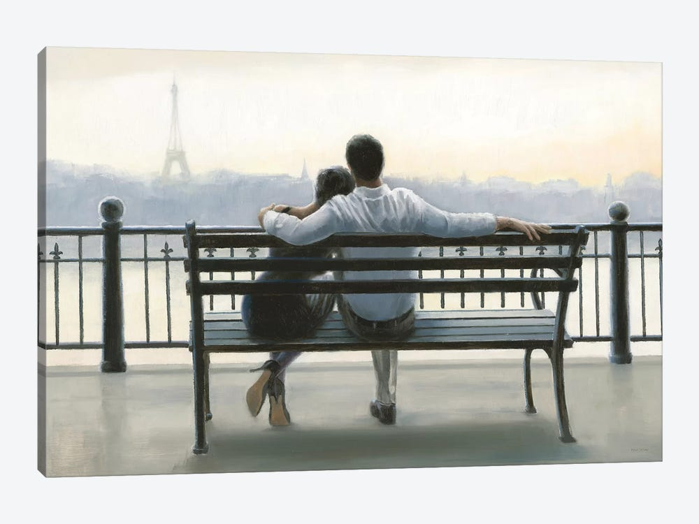 Parisian Afternoon by Myles Sullivan 1-piece Art Print