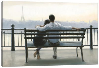 Parisian Afternoon Canvas Art Print