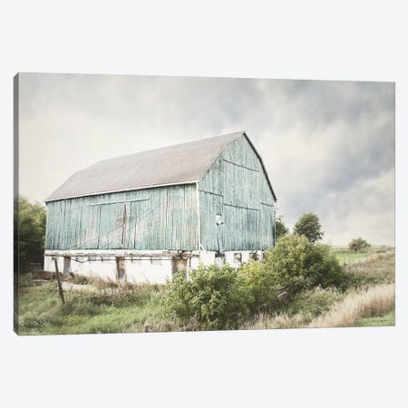 Late Summer Barn I Canvas Print #WAC6638} by Elizabeth Urquhart Art Print