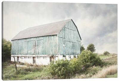 Late Summer Barn I Canvas Art Print