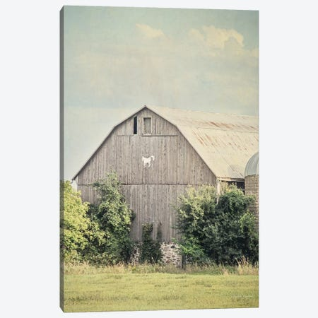 Late Summer Barn II Canvas Print #WAC6639} by Elizabeth Urquhart Canvas Art Print
