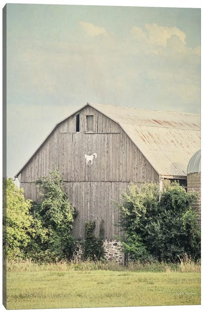 Late Summer Barn II Canvas Art Print