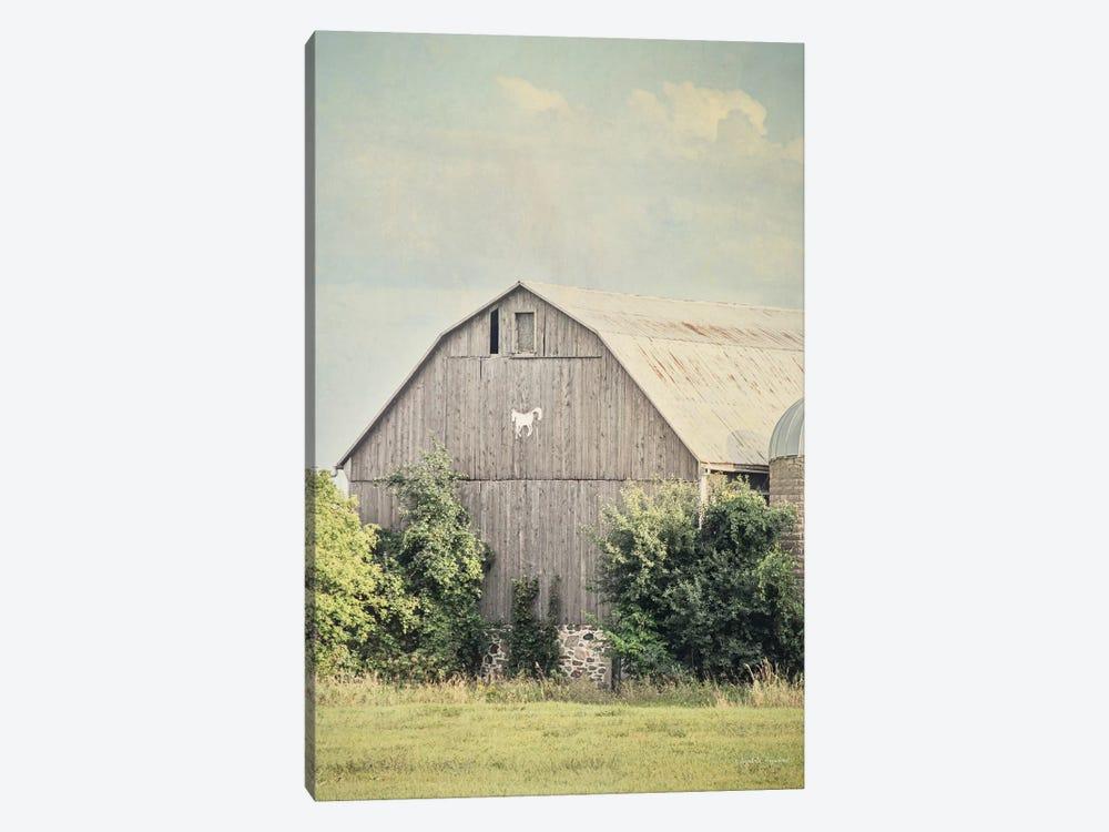 Late Summer Barn II by Elizabeth Urquhart 1-piece Canvas Art