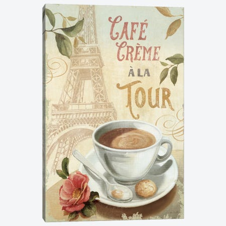 Cafe in Europe II Canvas Print #WAC663} by Lisa Audit Canvas Artwork