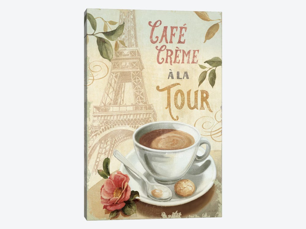 Cafe in Europe II by Lisa Audit 1-piece Canvas Print