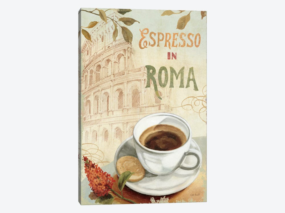 Cafe in Europe III by Lisa Audit 1-piece Canvas Art