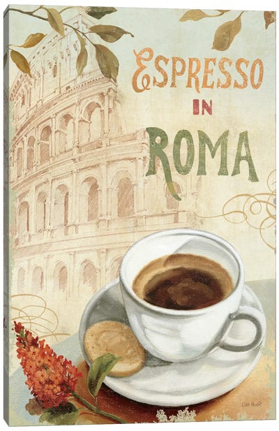 Cafe in Europe III Canvas Art Print