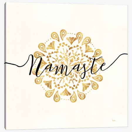 Namaste I Canvas Print #WAC6654} by Veronique Charron Canvas Artwork