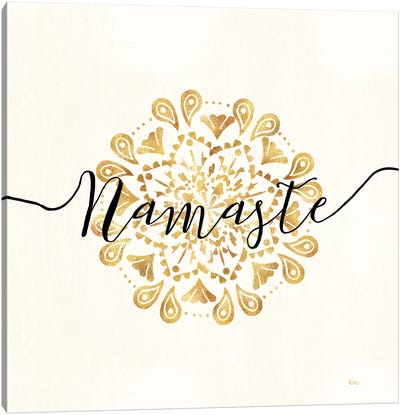 Namaste I Canvas Art Print