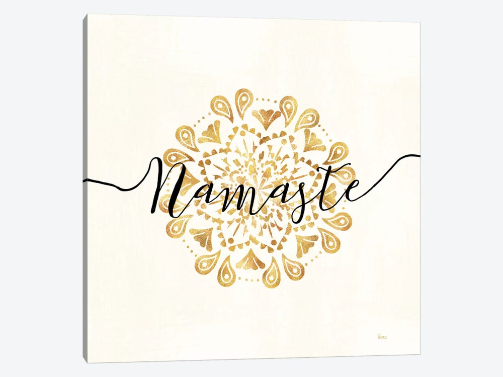 Namaste I by Veronique Charron 1-piece Canvas Art Print