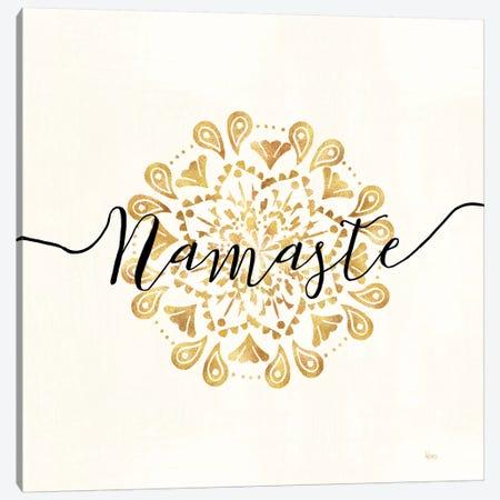 Namaste I Canvas Print #WAC6654} by Veronique Charron Canvas Artwork