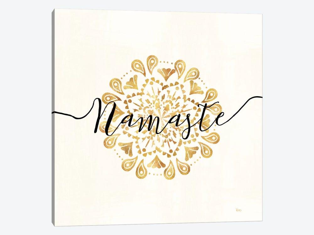 Namaste I by Veronique Charron 1-piece Canvas Art Print