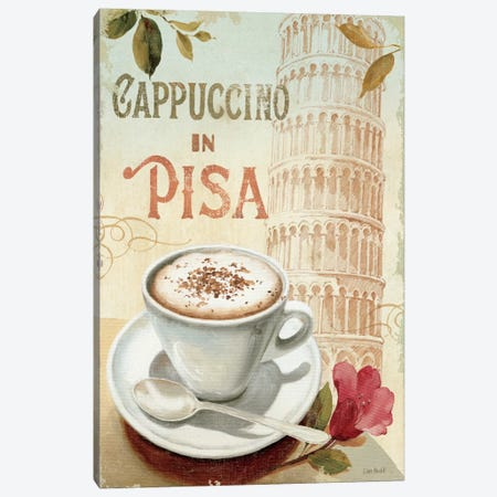 Cafe in Europe IV Canvas Print #WAC665} by Lisa Audit Canvas Print