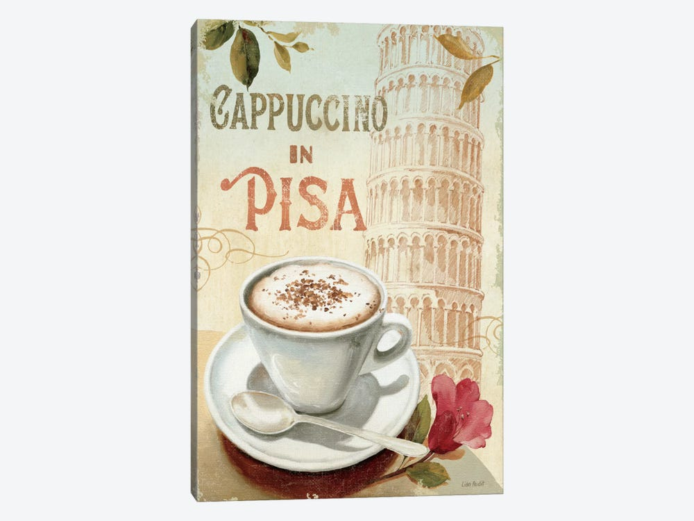 Cafe in Europe IV by Lisa Audit 1-piece Canvas Art Print